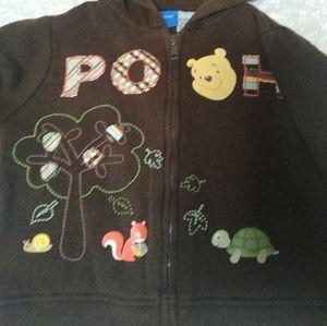 🍯 2/$10 Disney Pooh Bear Hoodie woodland